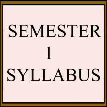 Syllabus for Regulation 2017 semester 1 anna university All department