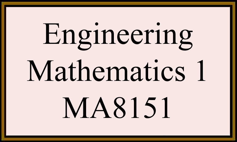 Syllabus notes ma8151 engineering mathematics 1 reg 2017 sem1 anna ma8151 engineering mathematics 1 regulation 2017 semester 1 syllabus for anna university m1 ma8151 maths 1 malvernweather Images
