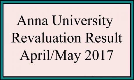 anna university results april may june 2017